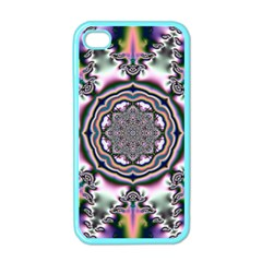 Pattern Abstract Background Art Apple Iphone 4 Case (color) by Pakrebo