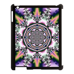 Pattern Abstract Background Art Apple Ipad 3/4 Case (black)
