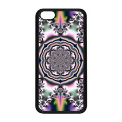 Pattern Abstract Background Art Apple Iphone 5c Seamless Case (black)