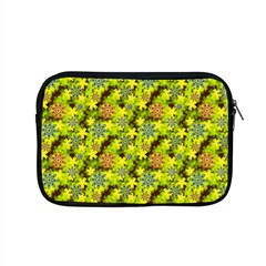 Flowers Yellow Red Blue Seamless Apple Macbook Pro 15  Zipper Case by Pakrebo
