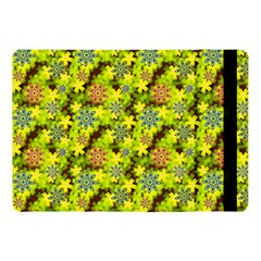 Flowers Yellow Red Blue Seamless Apple Ipad 9 7