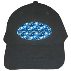 Star Hexagon Blue Deep Blue Light Black Cap