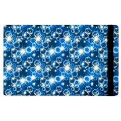 Star Hexagon Blue Deep Blue Light Apple Ipad 3/4 Flip Case by Pakrebo
