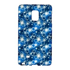 Star Hexagon Blue Deep Blue Light Samsung Galaxy Note Edge Hardshell Case