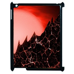 Sci Fi Red Fantasy Futuristic Apple Ipad 2 Case (black)