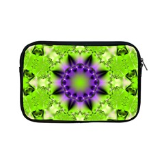 Pattern Abstract Background Art Green Apple Ipad Mini Zipper Cases by Pakrebo