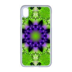 Pattern Abstract Background Art Green Apple Iphone Xr Seamless Case (white)