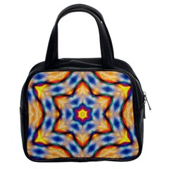 Pattern Abstract Background Art Classic Handbag (two Sides)