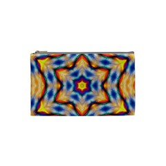 Pattern Abstract Background Art Cosmetic Bag (small)