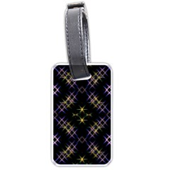 Seamless Background Abstract Vector Luggage Tags (one Side)