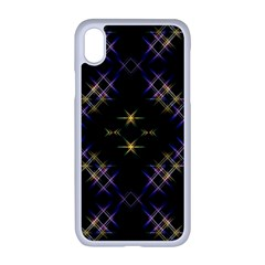 Seamless Background Abstract Vector Apple Iphone Xr Seamless Case (white)
