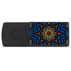 Pattern Abstract Background Art Rectangular Usb Flash Drive