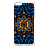 Pattern Abstract Background Art Apple iPhone 6 Plus/6S Plus Enamel White Case Front