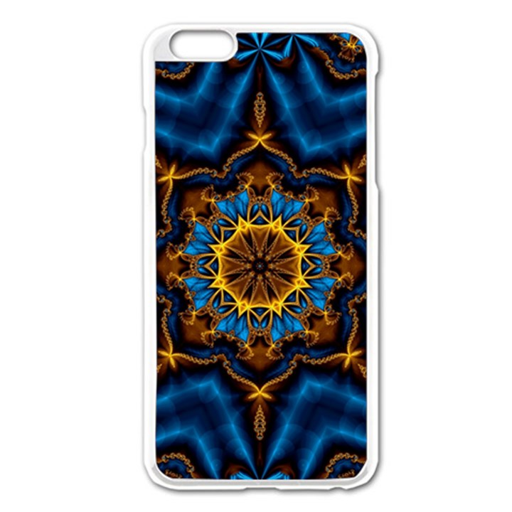 Pattern Abstract Background Art Apple iPhone 6 Plus/6S Plus Enamel White Case