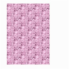 Texture Flower Background Pink Large Garden Flag (two Sides) by Pakrebo