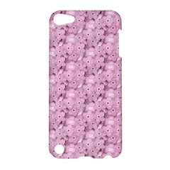 Texture Flower Background Pink Apple Ipod Touch 5 Hardshell Case
