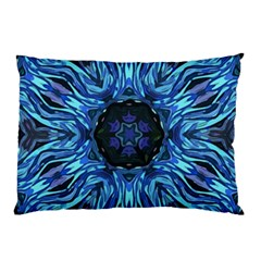 Background Blue Flower Pillow Case