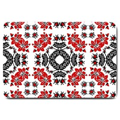Ornament Seamless Pattern Element Large Doormat