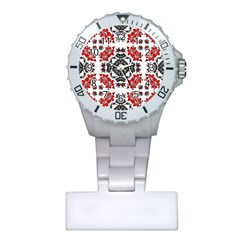 Ornament Seamless Pattern Element Plastic Nurses Watch