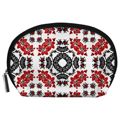 Ornament Seamless Pattern Element Accessory Pouch (large)