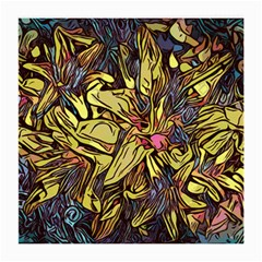 Lilies Abstract Flowers Nature Medium Glasses Cloth (2 Side)