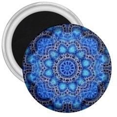 Fractal Mandala Abstract 3  Magnets by Pakrebo