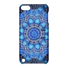 Fractal Mandala Abstract Apple Ipod Touch 5 Hardshell Case With Stand