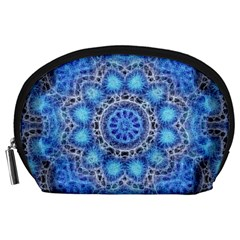 Fractal Mandala Abstract Accessory Pouch (large)