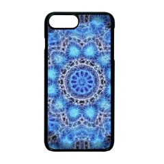 Fractal Mandala Abstract Apple Iphone 7 Plus Seamless Case (black)
