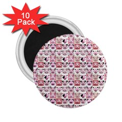 Graphic Seamless Pattern Pig 2 25  Magnets (10 Pack)  by Pakrebo