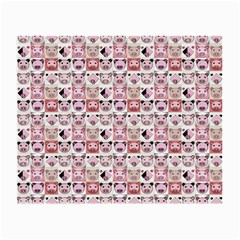 Graphic Seamless Pattern Pig Small Glasses Cloth