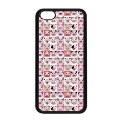Graphic Seamless Pattern Pig Apple Iphone 5c Seamless Case (black)