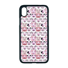 Graphic Seamless Pattern Pig Apple Iphone Xr Seamless Case (black)