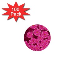 Cherry Blossoms Floral Design 1  Mini Buttons (100 Pack)