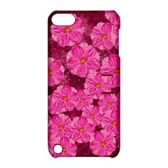 Cherry Blossoms Floral Design Apple Ipod Touch 5 Hardshell Case With Stand