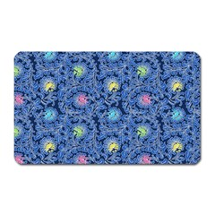 Floral Design Asia Seamless Pattern Magnet (rectangular)