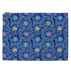 Floral Design Asia Seamless Pattern Cosmetic Bag (xxl)