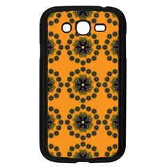 Abstract Template Flower Samsung Galaxy Grand Duos I9082 Case (black)