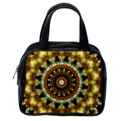 Pattern Abstract Background Art Classic Handbag (one Side)