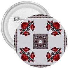 Ornament Pattern Background Design 3  Buttons by Pakrebo
