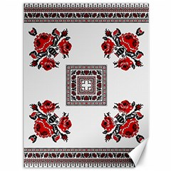 Ornament Pattern Background Design Canvas 36  X 48