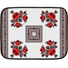 Ornament Pattern Background Design Fleece Blanket (mini) by Pakrebo