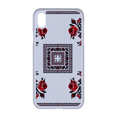 Ornament Pattern Background Design Apple Iphone Xr Seamless Case (white)