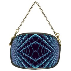 Sci Fi Texture Futuristic Design Chain Purse (one Side)