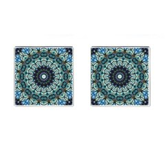 Pattern Abstract Background Art Cufflinks (square)