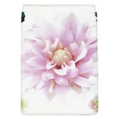 Abstract Transparent Image Flower Removable Flap Cover (l)