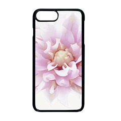 Abstract Transparent Image Flower Apple Iphone 8 Plus Seamless Case (black)