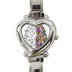 Brain Mind A I Ai Anatomy Heart Italian Charm Watch
