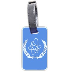 Flag Of Iaea Luggage Tags (one Side)