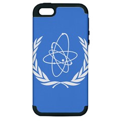 Flag Of Iaea Apple Iphone 5 Hardshell Case (pc+silicone)